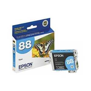 Original Epson 88 Cyan ink cartridge, T088220