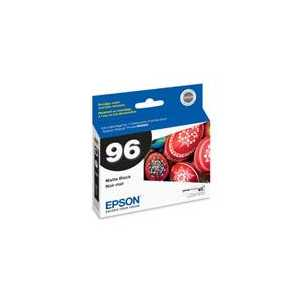 Original Epson 96 Matte Black ink cartridge, T096820