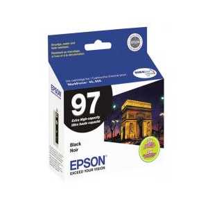 Original Epson 97 Black ink cartridge, T097120