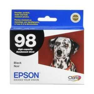 Original Epson 98 Black ink cartridge, T098120