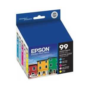Multipack - Epson 99 genuine OEM ink cartridges - T099920 - 5 pack