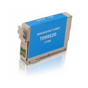 Remanufactured Epson 99 Cyan ink cartridge, T099220