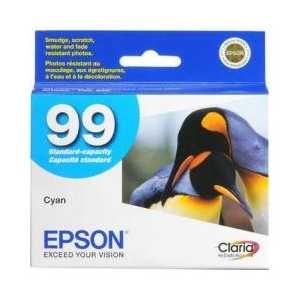 Original Epson 99 Cyan ink cartridge, T099220