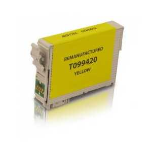 Remanufactured Epson 99 Yellow ink cartridge, T099420