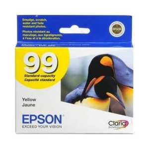 Original Epson 99 Yellow ink cartridge, T099420