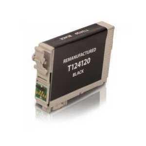 Remanufactured Epson 124 Black ink cartridge, T124120