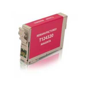 Epson 124 Pigment Magenta remanufactured ink cartridge - T124320