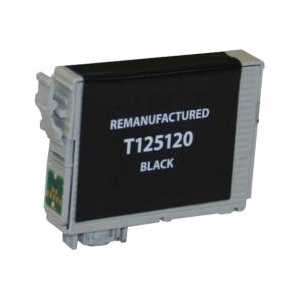 Remanufactured Epson 125 Black ink cartridge, T125120