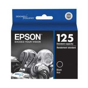 Epson 125 Black genuine OEM ink cartridge - T125120