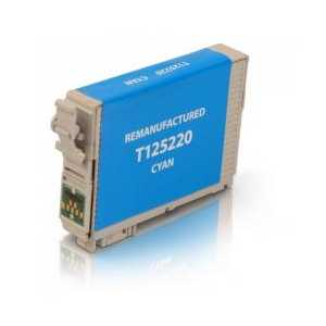 Remanufactured Epson 125 Cyan ink cartridge, T125220
