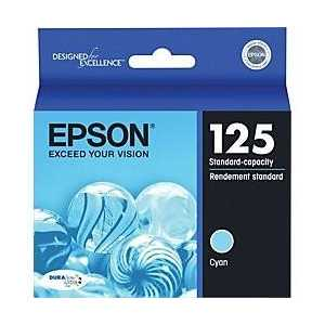Original Epson 125 Cyan ink cartridge, T125220