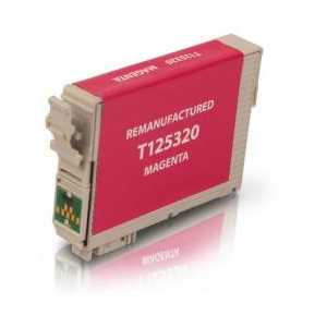 Epson 125 Pigment Magenta remanufactured ink cartridge - T125320
