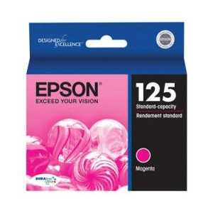 Original Epson 125 Magenta ink cartridge, T125320