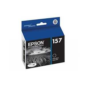 Epson 157 Photo Black genuine OEM ink cartridge - T157120