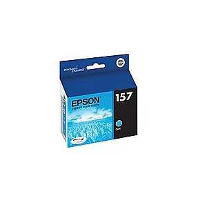 Epson 157 Cyan genuine OEM ink cartridge - T157220