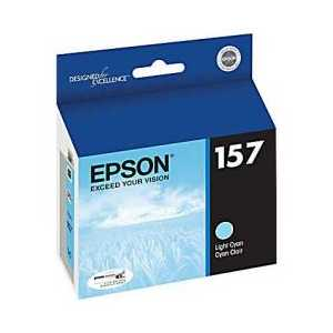 Epson 157 Light Cyan genuine OEM ink cartridge - T157520