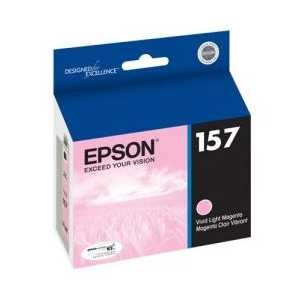 Epson 157 Light Magenta genuine OEM ink cartridge - T157620