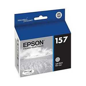 Epson 157 Light Black genuine OEM ink cartridge - T157720
