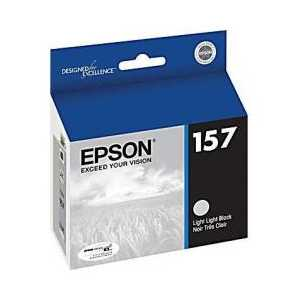 Epson 157 Light Light Black genuine OEM ink cartridge - T157920