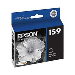 Epson 159 Photo Black genuine OEM ink cartridge - T159120