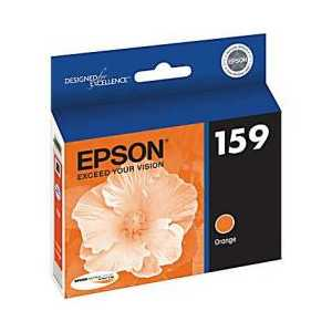 Epson 159 Photo Orange genuine OEM ink cartridge - T159920