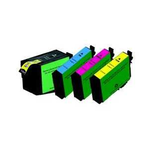 Remanufactured Epson 252XL ink cartridges, 4 pack