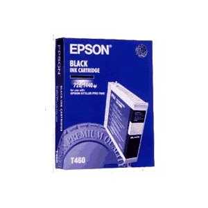 Epson T460 Black genuine OEM ink cartridge - T460011