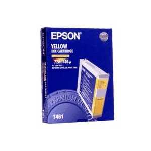 Epson T461 Yellow genuine OEM ink cartridge - T461011