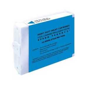 Remanufactured Epson T463011 Cyan ink cartridge