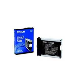 Epson T480 Black genuine OEM ink cartridge - T480011