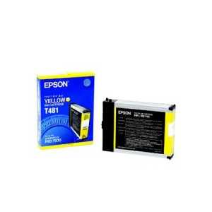 Epson T481 Yellow genuine OEM ink cartridge - T481011