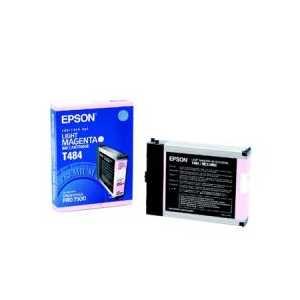 Epson T484 Light Magenta genuine OEM ink cartridge - T484011
