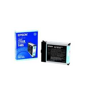 Epson T485 Light Cyan genuine OEM ink cartridge - T485011