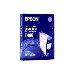 Epson T486 Black genuine OEM ink cartridge - T486011