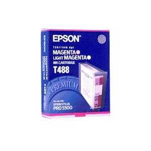 Epson T488 Magenta/Light Magenta genuine OEM ink cartridge - T488011