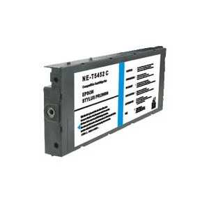 Remanufactured Epson T545200 Cyan ink cartridge