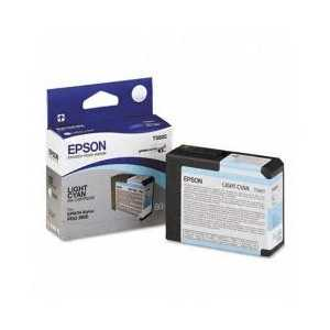 Original Epson T580500 Light Cyan ink cartridge