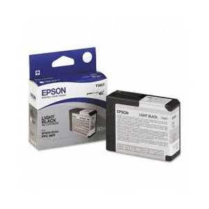 Epson T5807 Light Black genuine OEM ink cartridge - T580700