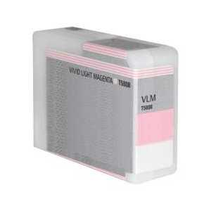 Remanufactured Epson T580B00 Vivid Light Magenta ink cartridge