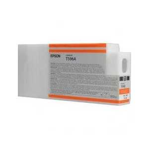 Epson T596A Orange genuine OEM ink cartridge - T596A00