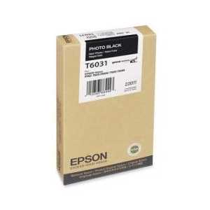 Epson T6031 Photo Black genuine OEM ink cartridge - T603100