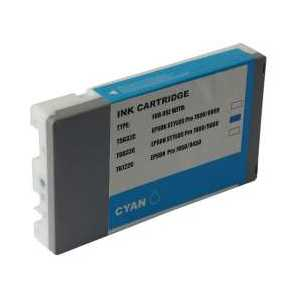 Remanufactured Epson T603200 Cyan ink cartridge