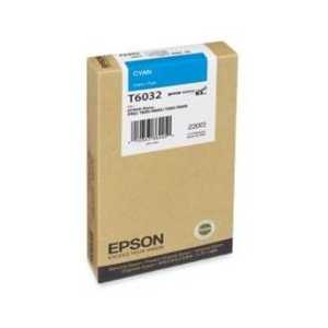 Original Epson T603200 Cyan ink cartridge
