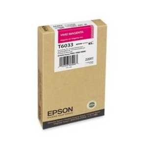 Epson T6033 Vivid Magenta genuine OEM ink cartridge - T603300
