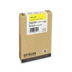 Epson T6034 Yellow genuine OEM ink cartridge - T603400