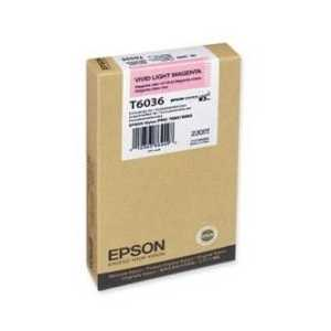 Epson T6036 Vivid Light Magenta genuine OEM ink cartridge - T603600