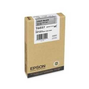 Original Epson T603700 Light Black ink cartridge