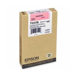 Original Epson T603B00 Magenta ink cartridge