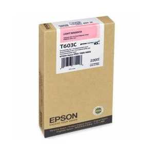 Original Epson T603C00 Light Magenta ink cartridge