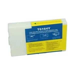 Remanufactured Epson T616400 Yellow ink cartridge